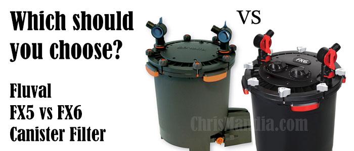 Fluval FX5 vs FX6 Canister Filter Reviews