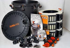 fluval fx5 parts unboxing