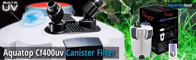 Aquatop Cf400uv Canister Filter