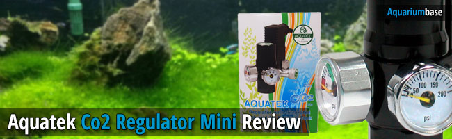 aquatek co2 regulator mini