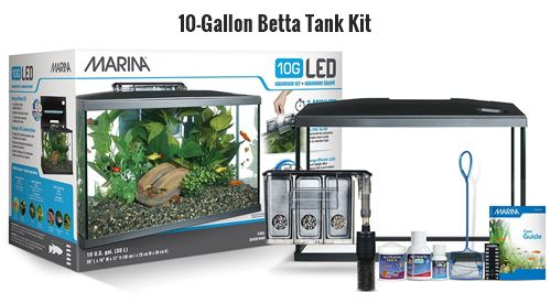 Marina Aquarium Kit for Betta Fish