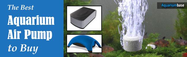 best air pump for aquarium