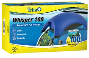 tetra whisper 100 best aquarium air pump