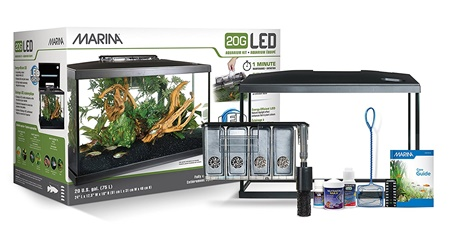 Marina 20G LED 20 gallon aquarium