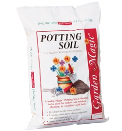 Potting soil planted tank substrate
