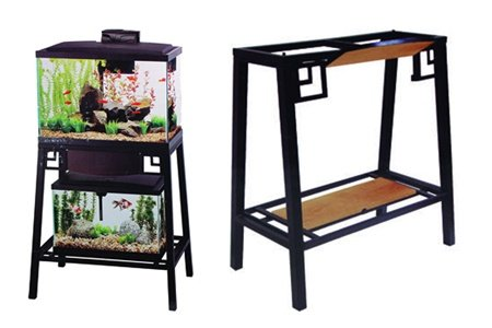 Best Aquarium Stands For Your Fish Tank (2018 Buyer Guide) 10 Gallon Fish Tank Stand Metal